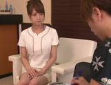 Akiho Yoshizawa Japanese babe enjoys a cock ride picture 4