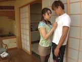 Curvaceous AV girl Shiho Tachibana deepthroats cock picture 12