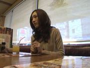 Asian housewife Julia gets hard pounding by her hubby