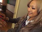 Blonde teen Julia Tachibana gets seduced by older guy picture 12