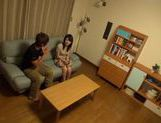 Japanese teen hottie sucking cock and loving doggystyle picture 15