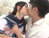 Remon Aisu does her best at cock sucking picture 13