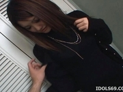 Azumi Mizushima Hot Asian Model Likes Sucking Cock