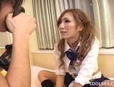 Miwa Yoshida Naughty Asian Model Likes Giving Blow Jobs