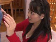 Horny Asian hottie Tsubasa Yuzuki loves to suck
