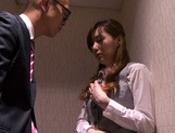 Kaede Fuyutsuki complies with her clients and fucks them picture 11