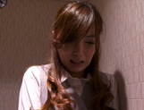 Kaede Fuyutsuki complies with her clients and fucks them picture 13