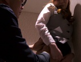 Kaede Fuyutsuki complies with her clients and fucks them picture 14