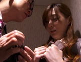 Kaede Fuyutsuki complies with her clients and fucks them