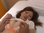 Kaho Nanami Asian model gets her pussy deep licked