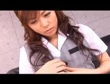Keito Miyazawa Naughty Asian chick gets poked by big dildo picture 6