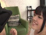 Sexy Japanese teen Aoi Naguse loves to swallow creamy jizz