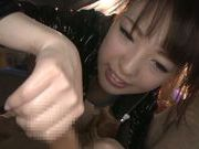 Pretty teen Iroha Sagara in sexy lingerie gets fucked on POV