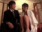 Flawless Japanese teen girl Haruki Satou fucked on the stairs picture 11