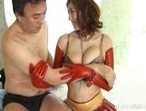Yuma Asami Horny Asian Model Enjoys A Good Pussy Licking picture 12