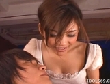 Tina Yuzuki Pretty Asian Model Enjoys Going For A Cock Ride