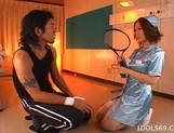 Nagomi Momono Naughty Asian Nurse Enjoys Her Patients picture 2