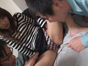 Horny Ai Kiyuu attends to orgy and gets fuckedasian teen pussy, young asian, cute asian}