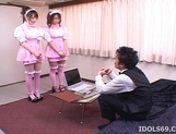 Manami Momosak Asian doll is a horny waitress picture 1