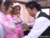 Manami Momosak Asian doll is a horny waitress picture 4