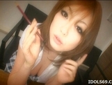 Rio Hamasaki Lovely Asian Model With Huge Hooters Who Enjoys Hot Sex