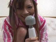 Asahi Miura Lovely Asian Housewife Enjoys Masturbation