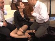 Hot Yuu Asou gets her cunt fingered and loves the feeling