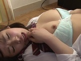 Sex appeal Japanese schoolgirl experiences hot sex with her boyfriendasian anal, young asian}