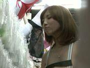 Naughty Japanese milf Yui Akane gets plowed from behind