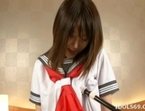 Saki Tsuji Asian Student Has A Nice Set Of Big Tits picture 8