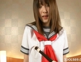 Saki Tsuji Asian Student Has A Nice Set Of Big Tits picture 9