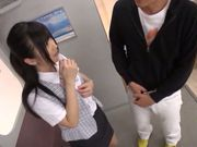Sexy teen gets her skirt pulled up to be fucked from behind