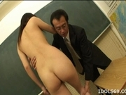 Suzuki Chao Hot Asian Babe Enjoys Sex In All Kinds Of Positions