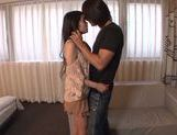 Excited babe Kana Tsuruta reaches hot orgasms