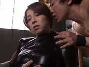 Sweet Japanese milf Tamaki Nakaoka gets drilled by sex toys
