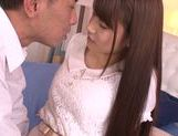 Naughty Japanese teen Ai Nakaidou rides hard boner picture 13