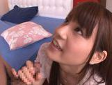 Naughty Japanese teen Ai Nakaidou rides hard boner picture 8