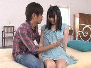 Aoi Naguse gets teased into fucking hard