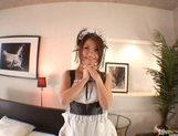 Kanna is a hot Asian waitress who enjoys sex picture 15