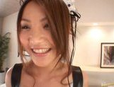 Kanna is a hot Asian waitress who enjoys sex picture 7