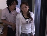 Reiko Yamaguchi Beautiful Asian babe rides a hard cock picture 4