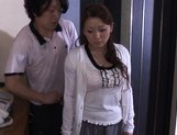 Reiko Yamaguchi Beautiful Asian babe rides a hard cock picture 5