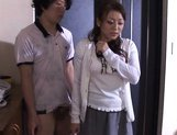 Reiko Yamaguchi Beautiful Asian babe rides a hard cock picture 6
