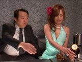 Emiri Senoo Asian babe spreads her legs to ride a cock