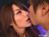 Tina Yuzuki Naughty Asian model Enjoys A Cock Ride On Her Boyfriend picture 13