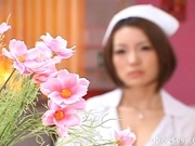 Nagomi Momono Naughty Asian Model Is A Hot Horny Nurse During The Day