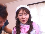 Nagisa Hot Asian waitress enoys a hard gangbang party