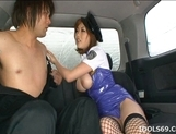 Rio Hamasaki Lovely Asian Model Is Fondling Cock picture 9
