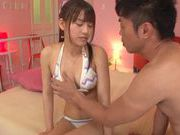 Nice teen chick and busty Ai Nikaidou enjoys a hard fucing