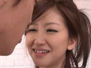 Miki Ishihara lovely Japanese doll gets a rear fuck